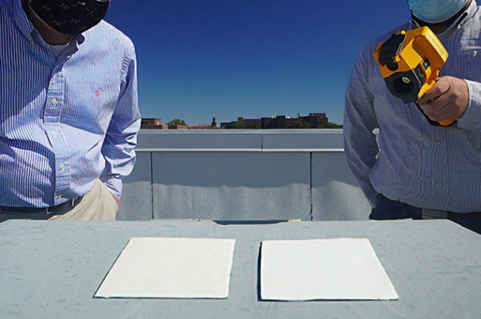 Esta nueva pintura súper blanca puede enfriar edificios